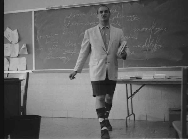 Tarravechia in Bermuda Shorts, June 1959