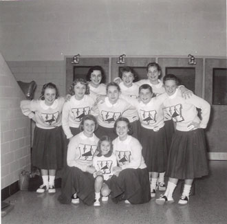 The Cheerleaders, February 1958