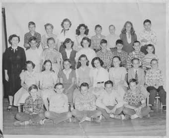 Oakridge 6th Grade 1953
